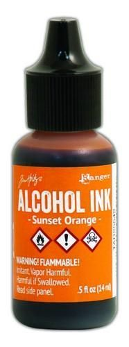 Ranger Alcohol Ink Sunset Orange