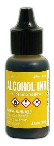 Ranger Alcohol Ink Sunshine Yellow