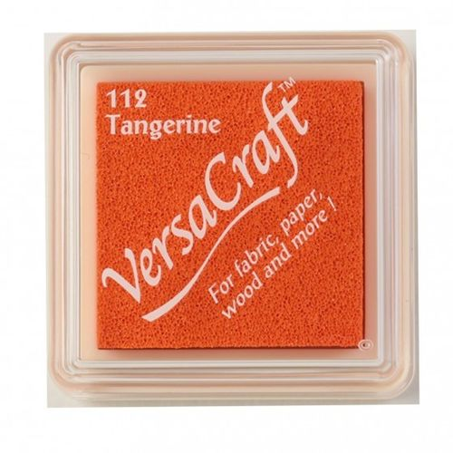 Versacraft ink pad small tangerine