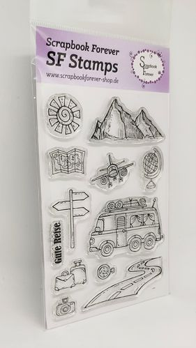 SF Stamps Gute Reise