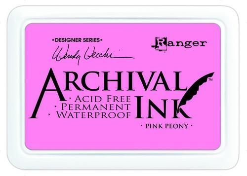 Ranger Archival Ink Pink Peony