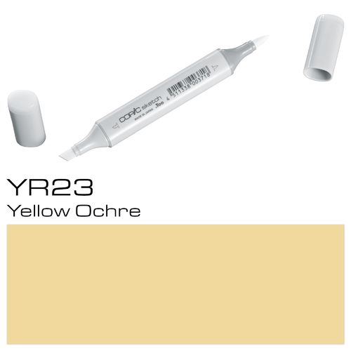 Copic Sketch YR23 Yellow Ochre