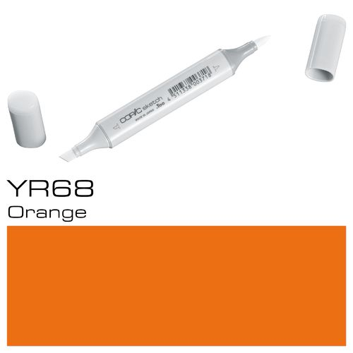 Copic Sketch YR68 Orange