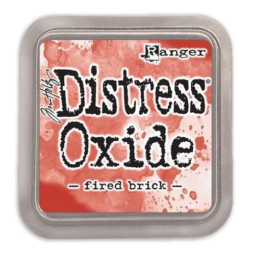 Distress Oxide Ink Fired Brick