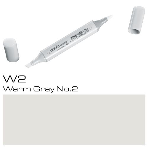 Copic Sketch W2 Warm Gray No.2