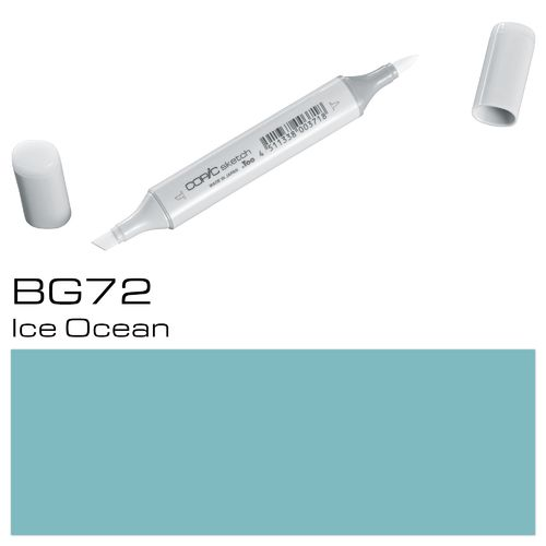 Copic Sketch BG72 Ice Ocean