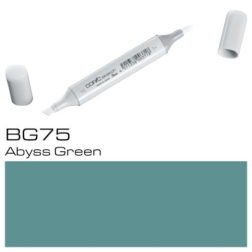 Copic Sketch BG75 Abyss Green