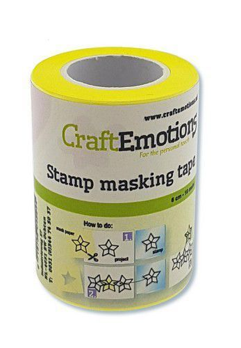 Craft Emotions Stamping Maskiertape 6 cm